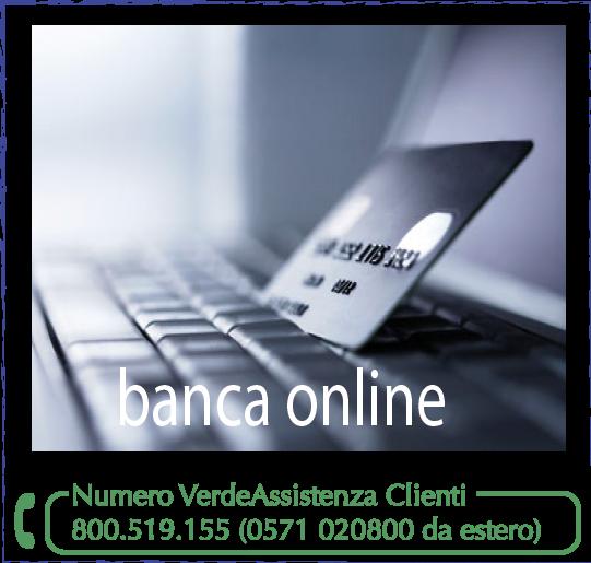 Accedi ai servizi home banking
